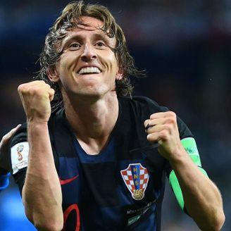 Modric llevó a la Selección de Croacia a la Final del Mundial Rusia 2018