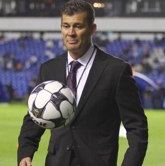 Ramón Ramírez, durante un evento
