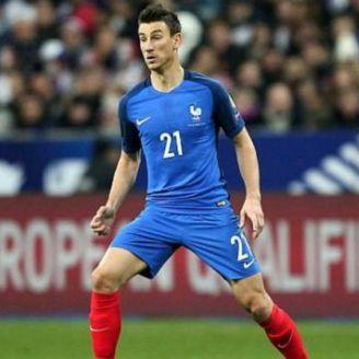 Koscielny durante un partido de Francia