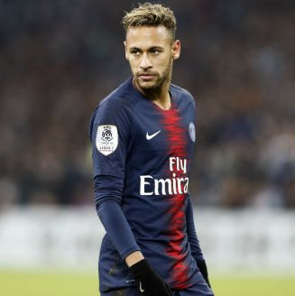 Neymar, durante partido del PSG