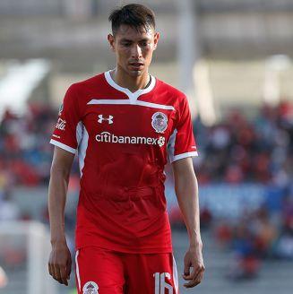 Adolfo Domínguez se lamenta tras el primer gol de Lobos