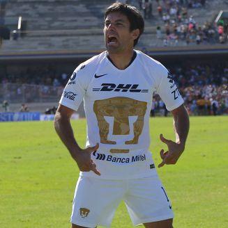 Malcorra celebra gol contra Tigres en Cuartos de Final