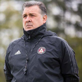 Martino, durante una sesión con el Atlanta FC