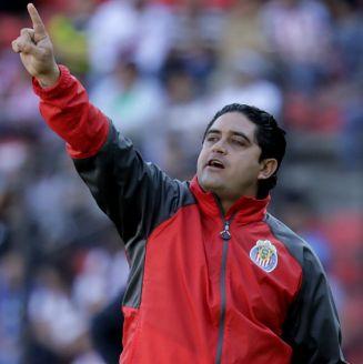 Luis Camacho durante un partido contra Querétaro