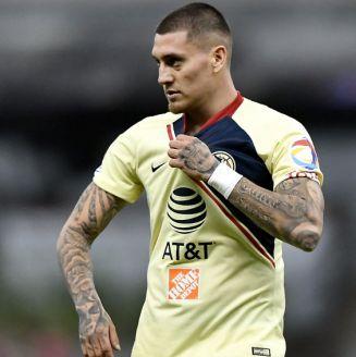 Nicolás Castillo, durante un partido contra León