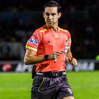 Ramos, durante un partido de la Liga MX
