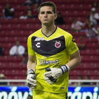 Sebastián Jurado, durante un juego del Veracruz