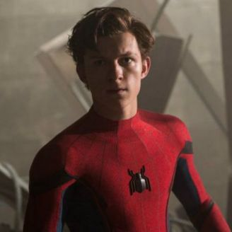 Tom Holland interprentado a Spider Man