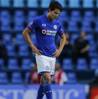 Carlos Fierro tras una derrota con Cruz Azul