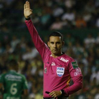 César Ramos, durante un partido de Semifinales