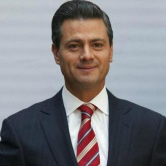 Peña Nieto, durante un evento