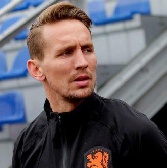 Luuk de Jong con la selección holandesa