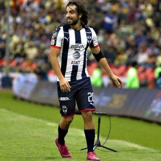 Rodolfo Pizarro, en el partido contra América