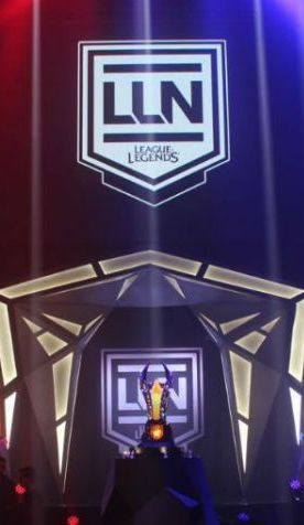 Escenario de la Gran Final de la LLN