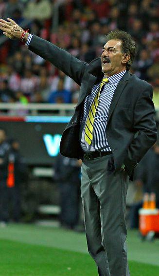 Ricardo La Volpe, en su paso por el club América