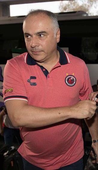 Guillermo Vázquez a su llegada a la Ciudad de México