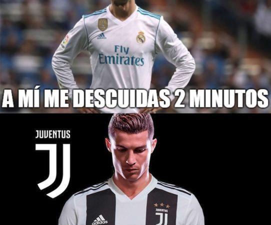 Ríe con los mejores memes de la salida de Cristiano del Real Madrid