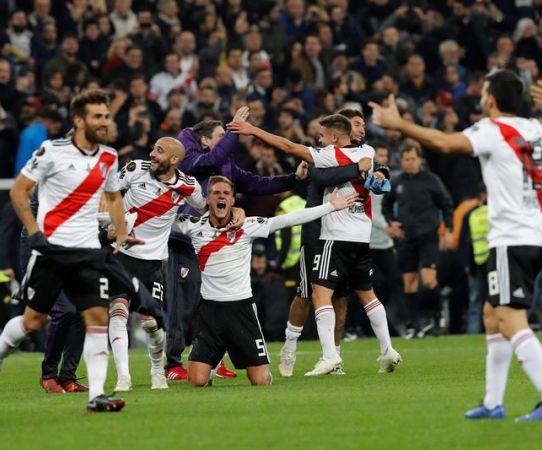 River hizo estallar el Bernabéu tras ganar la Libertadores 2018