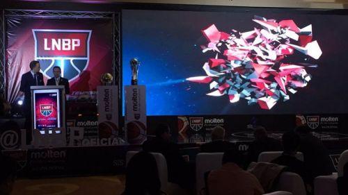 La presentación de la Liga Nacional de Basquetbol Profesional de México