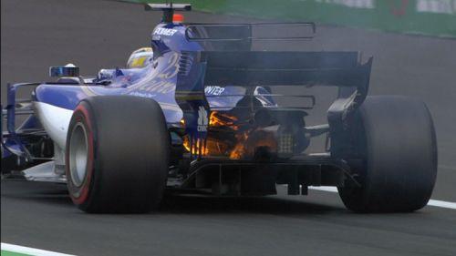 Así lució el monoplaza de Ericsson en el GP de México