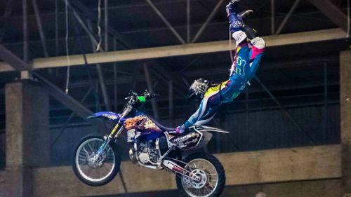 Johan Nungaray, pionero del Freestyle motocroos en México