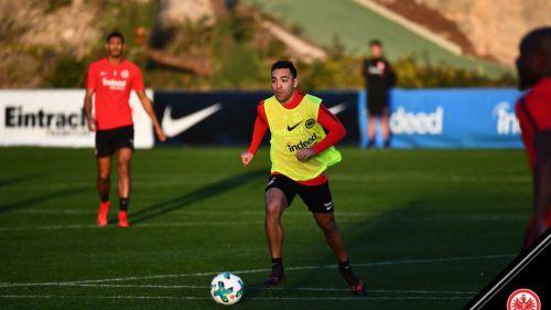 Marco Fabián de vuelta a los entrenamientos con el Frankfurt