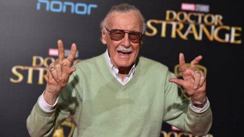Stan Lee, en la premier de la película 'Doctor Strange'