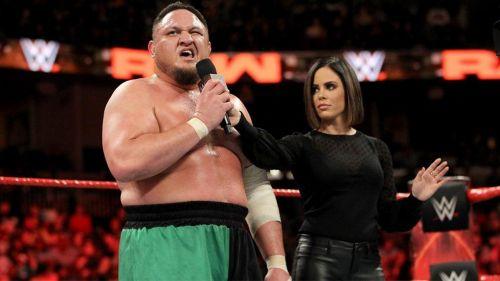 Samoa Joe tras su lucha contra Rhyno en RAW