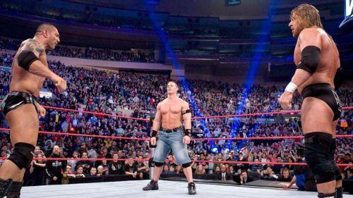 John Cena en Royal Rumble 2008