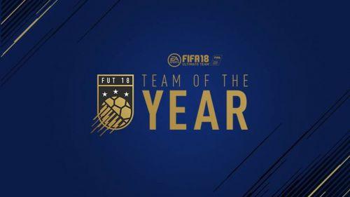 Cartel oficial para la votación de Equipo del Año de FIFA 2018