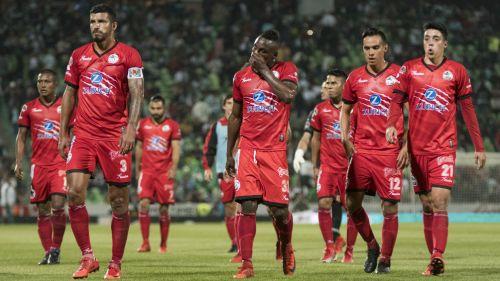 Lobos BUAP después de la derrota frente a Santos