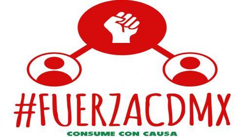 Logo de la plataforma en apoyo a los negocios afectados por el sismo