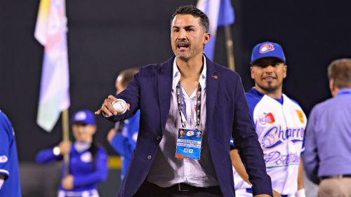 González, durante un juego inaugural de los Charros de Jalisco