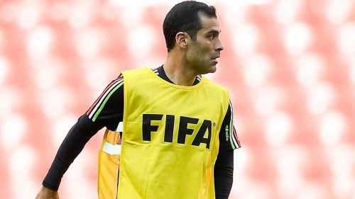 Márquez, durante un entrenamiento con la Selección