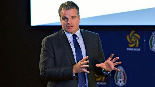 Dennis Te Kloese, durante un curso con la CONCACAF