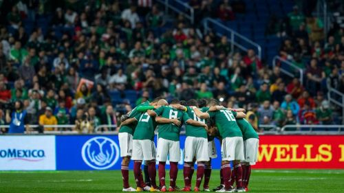 La Selección Mexicana previo al partido contra Bosnia