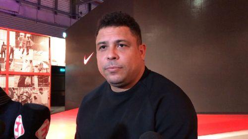 Ronaldo, durante una entrevista