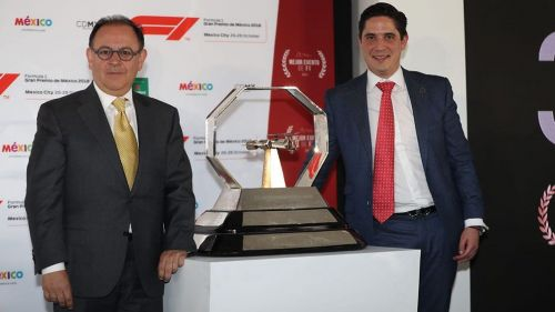 Organizadores del Gran Premio de México 2018