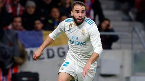 Carvajal disputa un duelo con Real Madrid