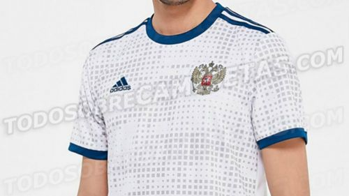Así luce la que sería la camiseta de Rusia