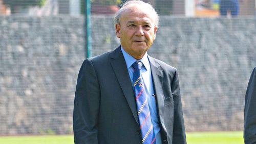 Billy Álvarez, en las instalaciones de La Noria