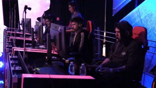 Los jugadores de Ultra Instinct, tras vencer a Columbian Legends