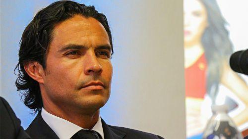 Braulio Luna en conferencia de prensa