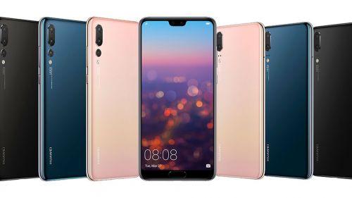 Huawei presentó su gama de modelos P20