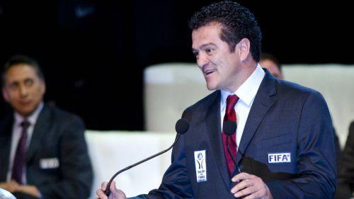 Carlos Hermosillo, durante la ceremonia de Investidura 2012