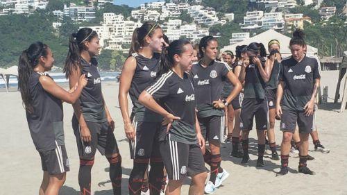 Selección Mexicana Femenil se prepara para los Juegos Centroamericanos