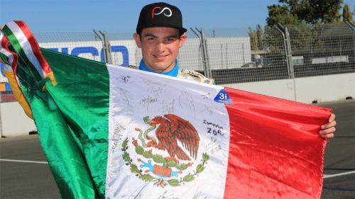 O'Ward porta orgulloso la bandera de México