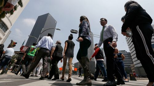 Macrosimulacro se realizó en la Ciudad de México