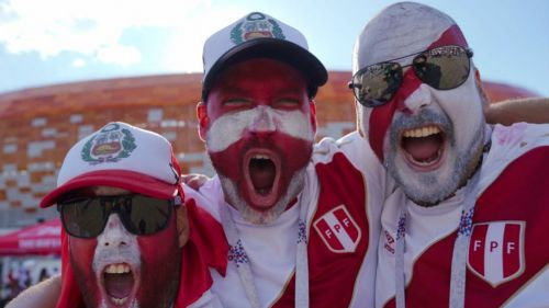 Aficiones de Perú en la Copa del Mundo de Rusia 2018