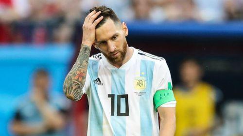 Messi, en lamento durante el Mundial de Rusia 2018